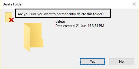 Delete folder after using unlocker