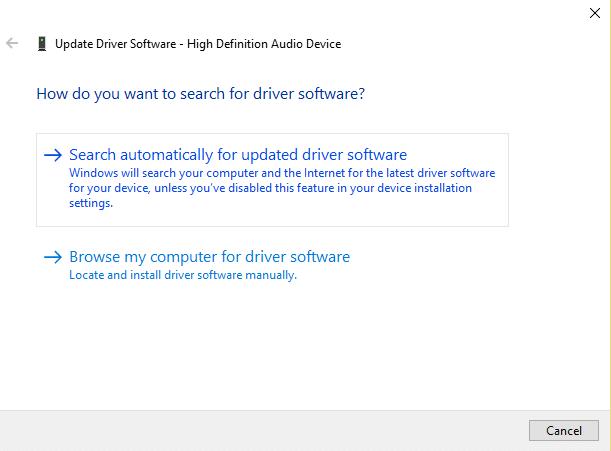 update drivers automatically