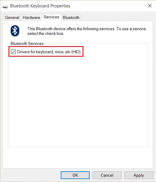 Drivers for keyboard, mice, etc (HID) | Fix Windows 10 Keyboard Not Working