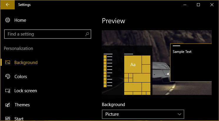 Enable Dark Theme for every Application in Windows 10