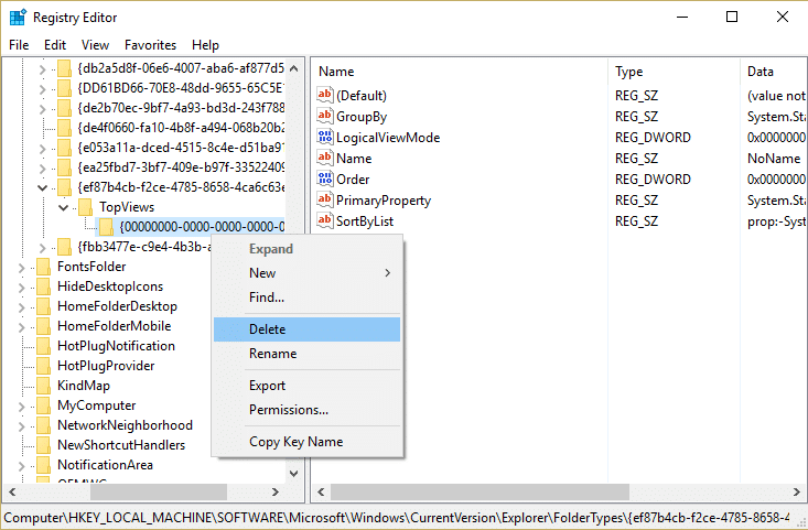 Registry hack in order to Fix Search results not clickable in Windows 10