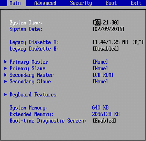 Set Correct System Time in BIOS