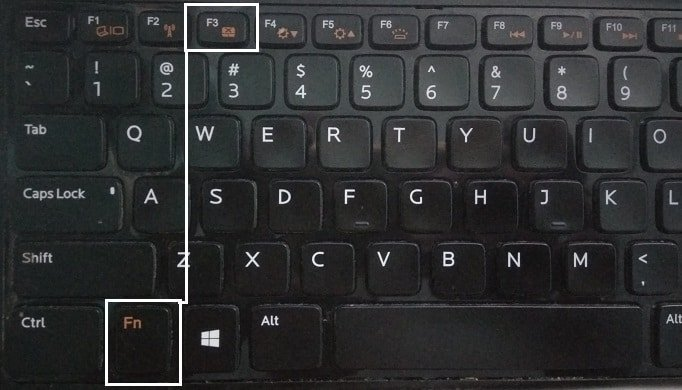 Use the Function Keys to Check TouchPad