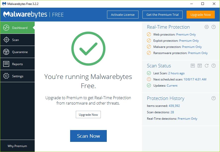 How to use Malwarebytes Anti-Malware to remove Malware