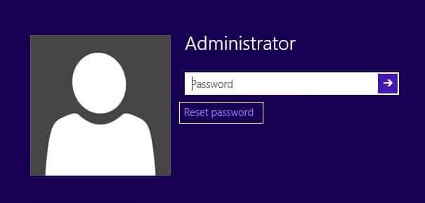 Click Reset Password on Windows 10 login screen   How to Reset Your Password in Windows 10