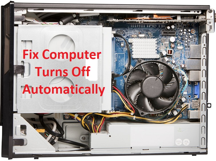 How to Fix Computer turns off automatically