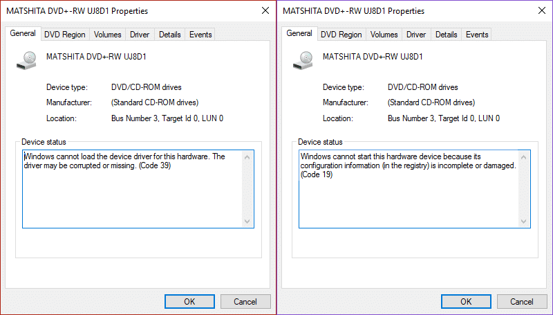 Fix CD/DVD Drive not able to read discs