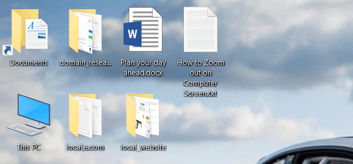 How to Zoom out on Computer Screen