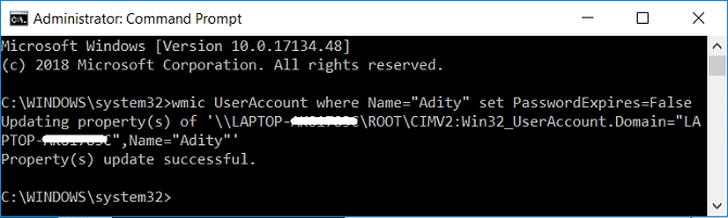 Disable Password Protection in Windows 10