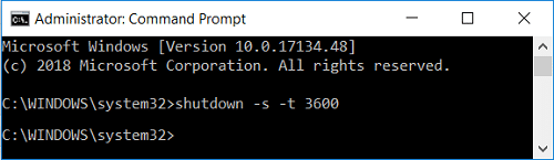 Schedule Windows 10 Automatic Shutdown using Command Prompt | How to Schedule Windows 10 Automatic Shutdown