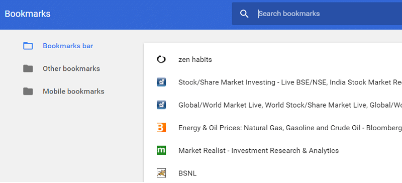 Back Up And Restore Your Bookmarks in Google Chrome