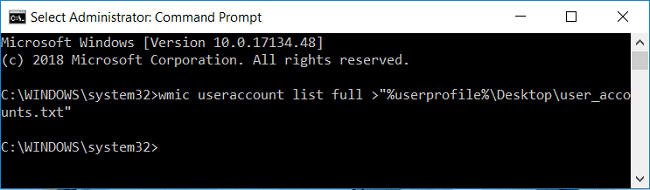Export the list of details of all user account on desktop | How to View User Account Details in Windows 10