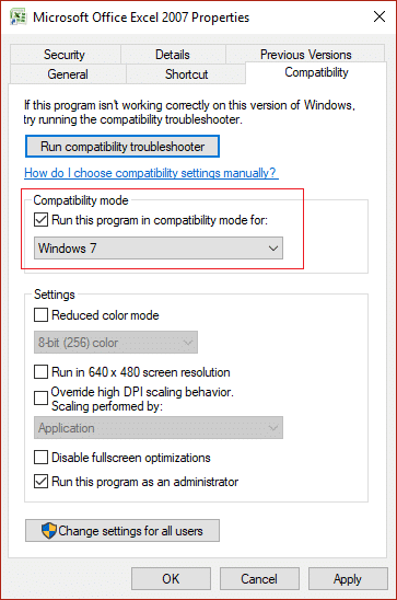 How to Change Compatibility Mode for Apps in Windows 10