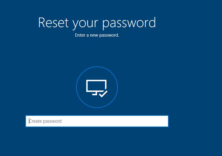 How to Reset Your Password in Windows 10