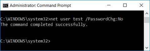 Prevent Users from Changing Password using Command Prompt | How to Prevent Users from Changing Password in Windows 10