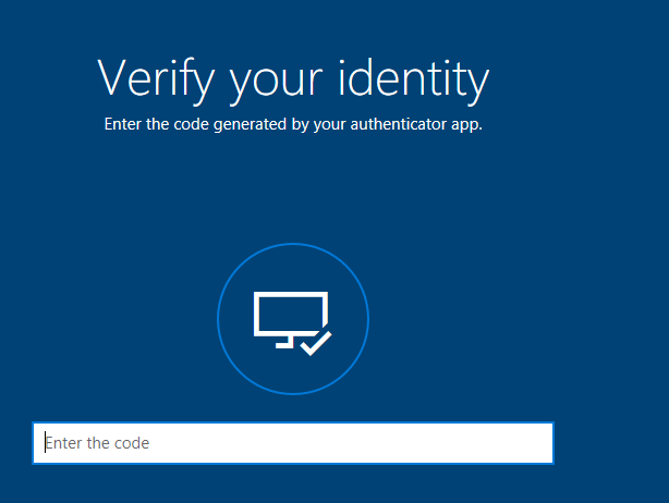 Type in the security code which you received
