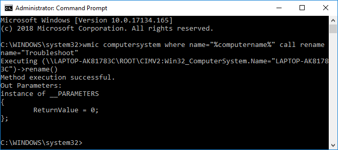 Change Computer Name from Command Prompt | How to Change Computer Name in Windows 10