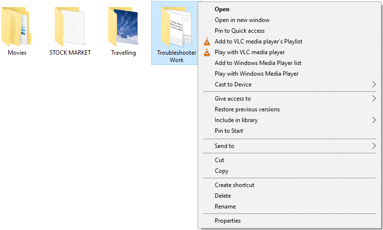 Copy To Folder& Move to Foldercommands will be removed from the right-click context menu