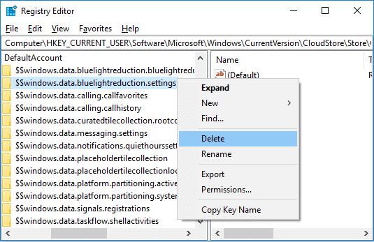 Fix Unable to Enable or Disable Night Light feature