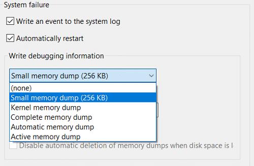 Configure Windows 10 to Create Dump Files on Blue Screen of Death