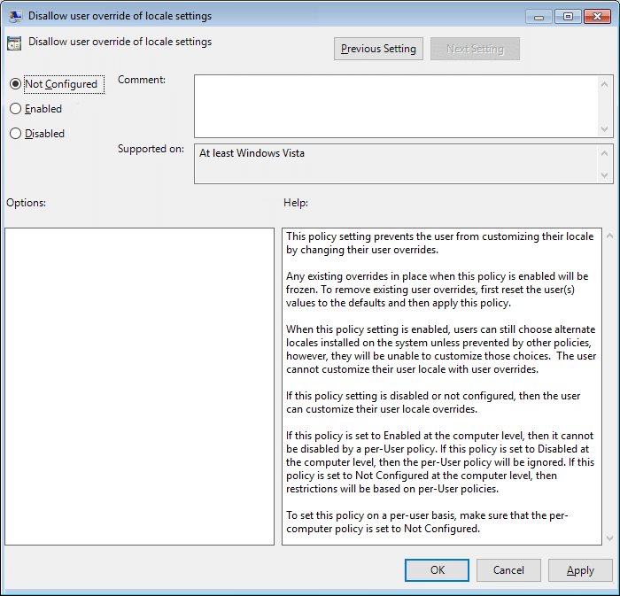 Allow or Prevent Users from Changing the Date and Time in Local Group Policy Editor