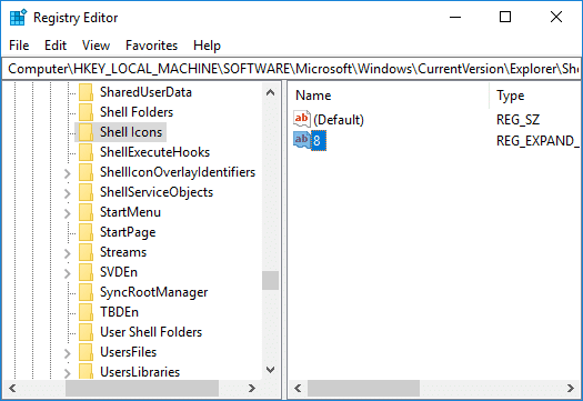 Change All the Drive Icons (Default drive icon) in Windows 10