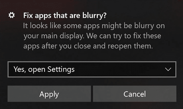 Easily Fix Scaling for Blurry Apps in Windows 10