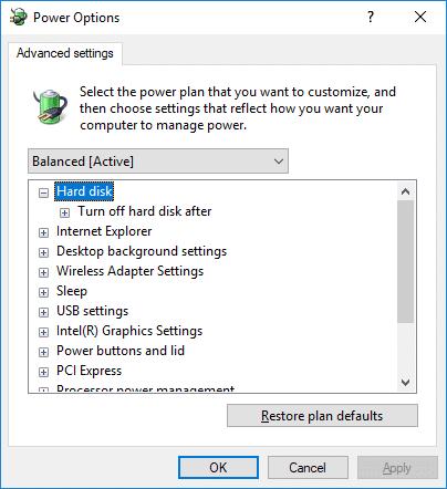 Cách Tắt Ổ Cứng Sau Khi Không Hoạt Động Trong Windows 10 - HUY AN PHÁT