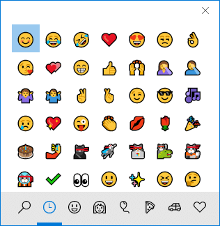 How to Enable or Disable Emoji Panel in Windows 10