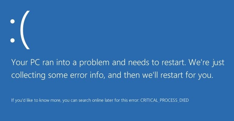 7 Ways to Fix Critical Process Died in Windows 10