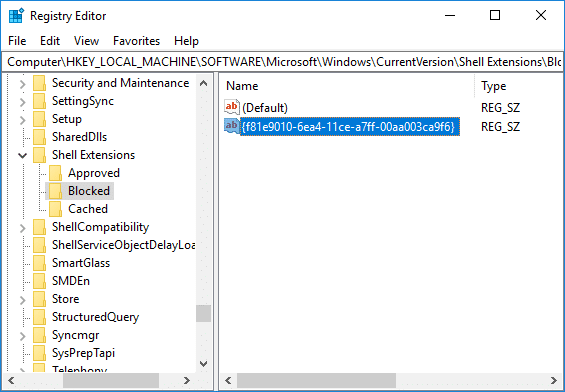 Add 'Give access to' in the Context Menu in Windows 10