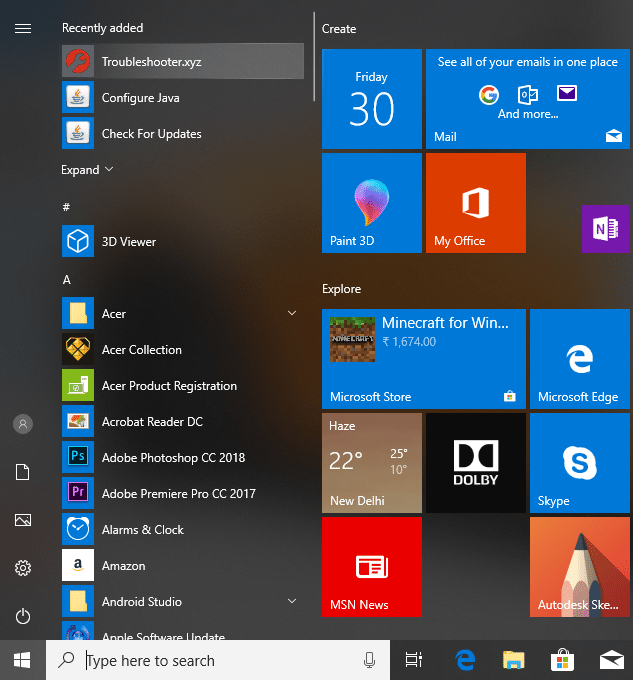 Google Chrome will also have a shortcut of the website in the Chrome Apps folder in the All Apps lists under Start Menu