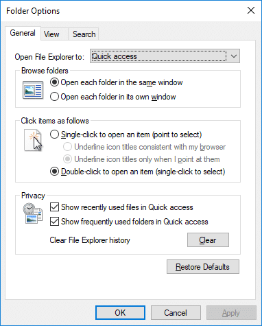 How to Open Folder Options in Windows 10 Easily