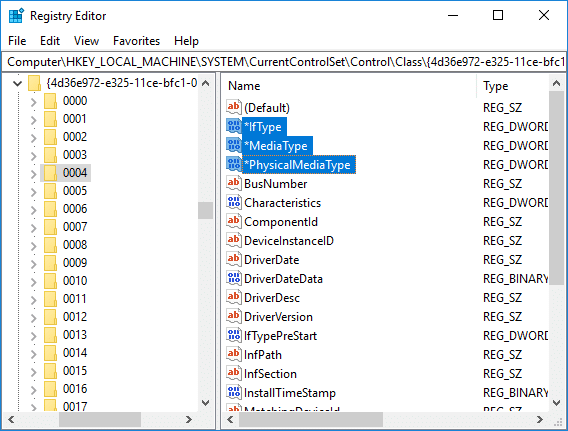 Registry Fix for USB Tethering Not Working in Windows 10