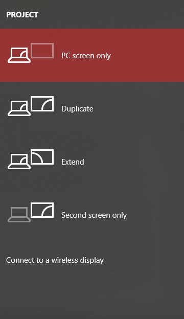 Fix HDMI Port Not Working in Windows 10