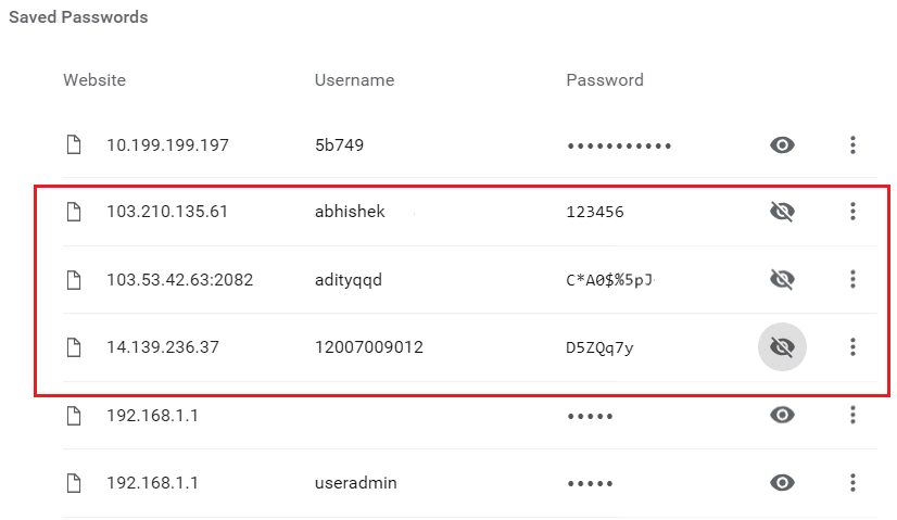 How to View Saved Password in Chrome