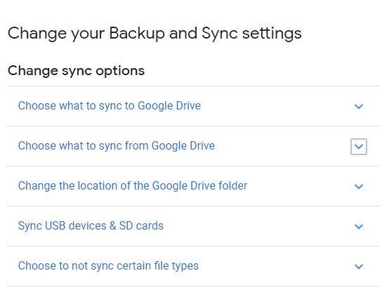 This page also offers you the complete guide on how to sync folders from or to your Google drive
