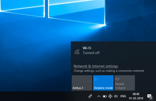 Fix Airplane Mode not turning off in Windows 10 | Fix Unable to Connect to Netflix Error