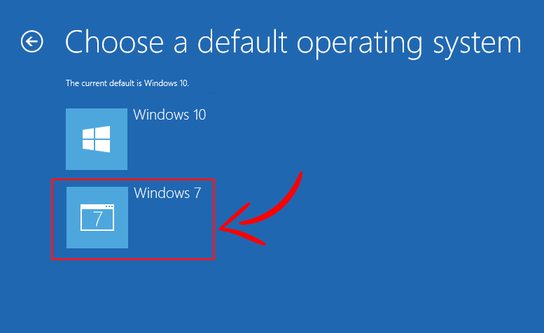 How to Change Default OS in Dual-Boot Setup