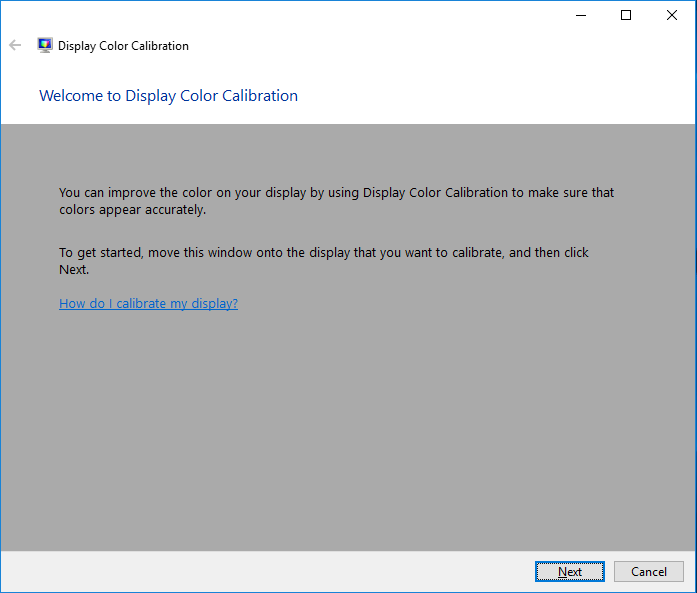 How to change Color Calibration on your system