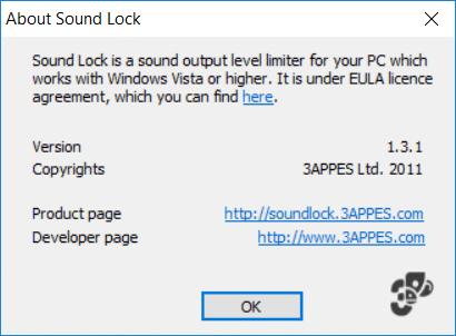 Set Maximum Volume limit in Windows 10 using Sound Lock