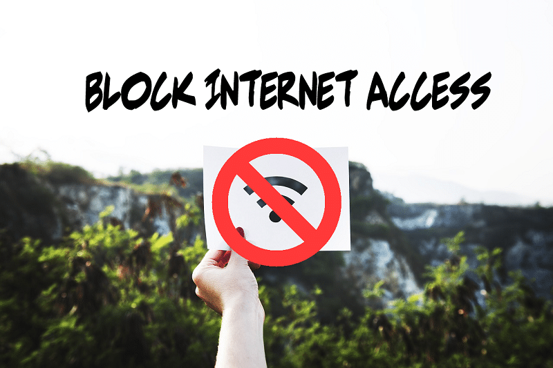 Windows 10 Tip How to Block Internet Access