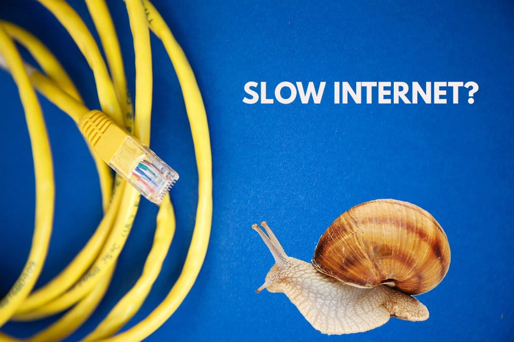 Slow Internet Connection? 10 Ways to Speed up your Internet!