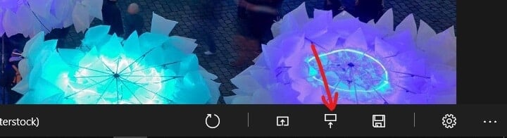 To set the current Bing image as the lock screen background