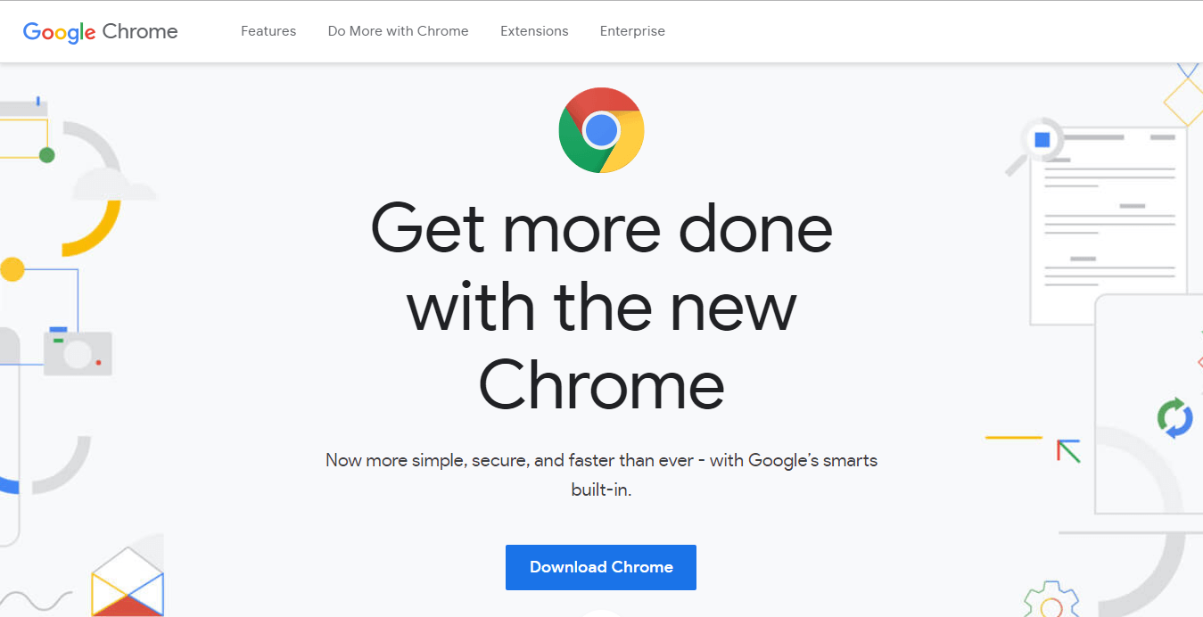 Visit the websiteand click on Download Chrome | Difference Between Google Chrome And Chromium?