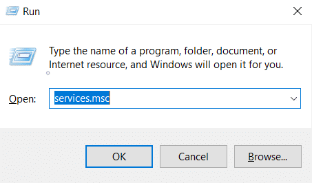 Run window type Services.msc and press Enter. iPhone not showing in my computer