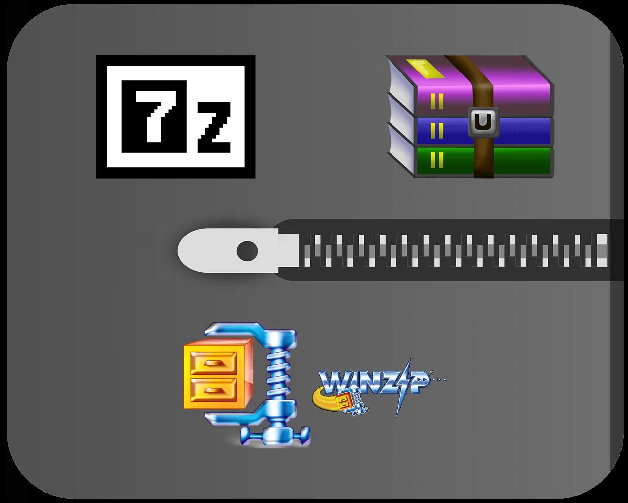 7-Zip vs WinZip vs WinRAR (Best File Compression Tool)