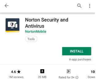 Click on Install button | Remove Android Viruses Without a Factory Reset