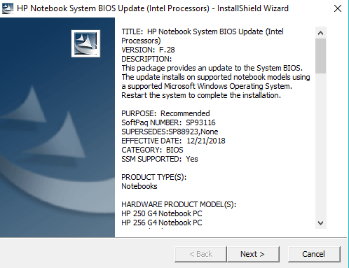Click on Next to continue Installation