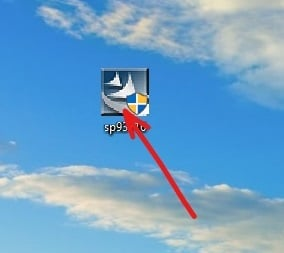 Double click on the downloaded BIOS icon on Desktop